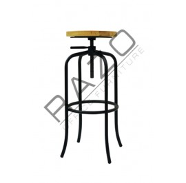 Cafeteria Stool| Restaurant Stool -SI-SWIVEL-BAR