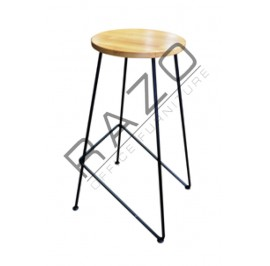 Cafeteria Stool| Restaurant Stool -SI21-Low | High