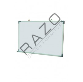 Single Sided Magnetic Whiteboard 4' x 4'