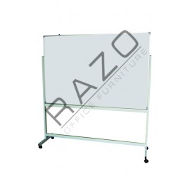 Double Sided Magnetic Whiteboard 3' x 3'