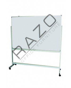 Double Sided Magnetic Whiteboard 4' x 4'