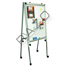 Adjustable Flip Chart Board 3' x 2'