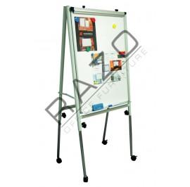 Adjustable Flip Chart Board 4' x 3'