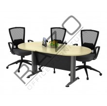Oval Conference Table | Office Furniture -TOE24