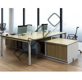 Spacious Workstation | Office Partition Workstation -SW127-S