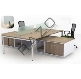 Open Concept Workstation | Office Partition Workstation -OCW1275