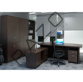 Director Table Set | Office Furniture -QX2100