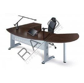 Director Table Set | Office Furniture -QMB180A