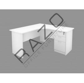 Executive Table Set | Office Furniture -FML1818+2D1F
