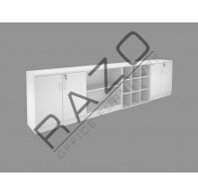 Office Cabinet Set | Office Bookcase | Office Filing Cabinet -FM-S3