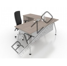 Writing Table | Office Table  | Office Furniture -ALD1518 (L/R)