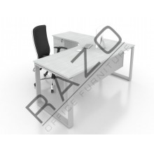 Writing Table | Office Table  | Office Furniture -SLD1518 (L/R)