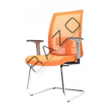 Conference Mesh Visitor Chair | Netting Chair -E2793S
