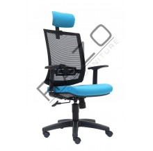 Presidential Mesh High Back Chair | Netting Chair -E2815H