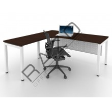 L shape Writing Table | Office Table  | Office Furniture -MUL1815W