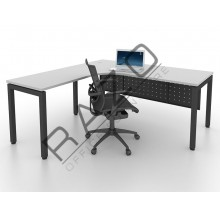 L shape Writing Table | Office Table  | Office Furniture -MUL1515G