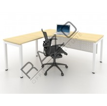 L shape Writing Table | Office Table  | Office Furniture -MUL1515M
