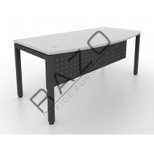 D shape Writing Table | Office Table  | Office Furniture -MUW1890G