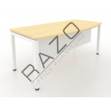 D shape Writing Table | Office Table  | Office Furniture -MUW1890M