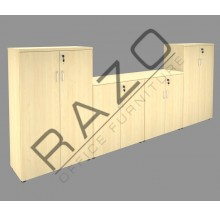 Office Cabinet Set | Office Bookcase | Office Filing Cabinet -CSP-3