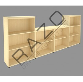 Office Cabinet Set | Office Bookcase | Office Filing Cabinet -CSP-4