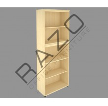 Full Height Open Shelf Cabinet | Office Bookcase | Office Filing Cabinet -FHC-M