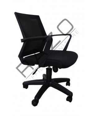 Executive Mesh Low Back Chair | Netting Chair -RMC-1