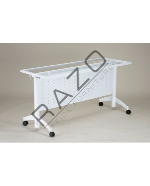Mobile Banquet Table   Mobile Folding Table 5' x 1.5' (16mm) -MF-1545