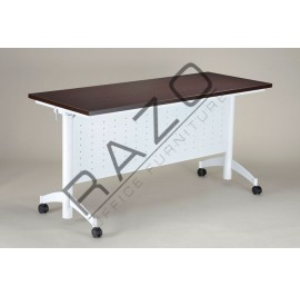 Mobile Banquet Table | Mobile Folding Table 6' x 1.5' (16mm) -MF-1845