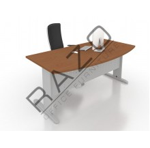 D shape Writing Table | Office Table  | Office Furniture -JD1890