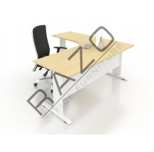 L shape Writing Table | Office Table  | Office Furniture - JL1515