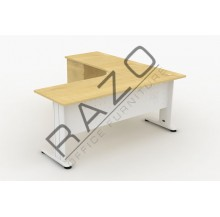 L shape Writing Table | Office Table  | Office Furniture -JLD1515