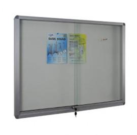 Sliding Glass Door Soft Notice Board